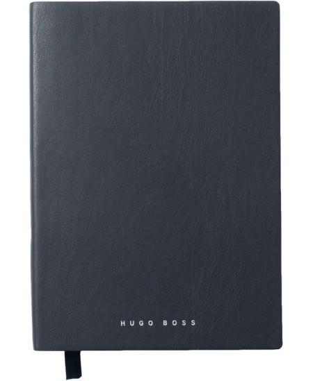 Prabangi užrašų knygelė HUGO BOSS, A5, linija, mėlyna
