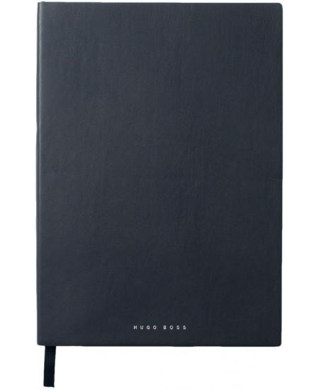 Prabangi užrašų knygelė HUGO BOSS, A4, linija, mėlyna