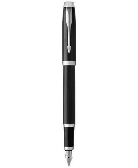Plunksnakotis PARKER IM, juodas lakuotas korpusas su sidabro spalvos detalėmis