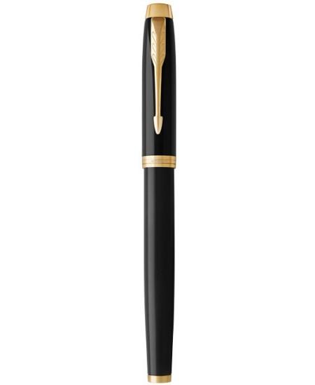 Plunksnakotis PARKER IM, juodas lakuotas korpusas su aukso spalvos detalėmis