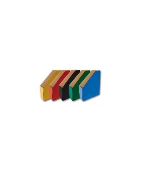 Archyvavimo stovas SM-LT, įvairių spalvų 82 mm iš gofrokartono, juodos spalvos