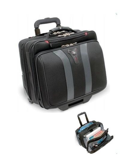 Krepšys-lagaminas su ratukais WENGER GRANADA, pilkas