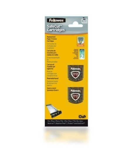 Keičiamos pjaustyklių kasetės FELLOWES SafeCut, tiesiam pjovimui