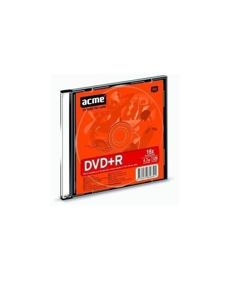 Laikmena ACME DVD+R, 4.7GB, 16X, plonoje dėžutėje