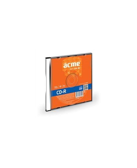 Laikmena ACME CD-R, 700MB, 52X, plonoje dėžutėje